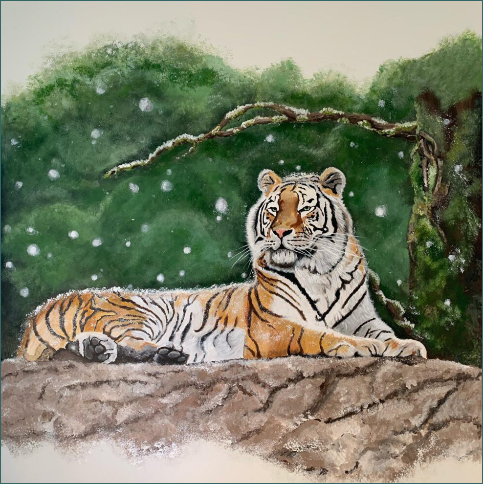 muur tijger